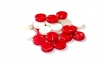 Red and White Backgammon Kit (2)