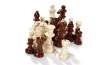 Chess Pieces in Brown (2)