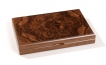Color Dominoes Set in Briar-Root Wooden Case (3)