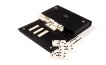 Dominoes Set in Leather Wallet Case (2)