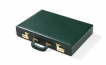 Leather Backgammon Set in Green (2)