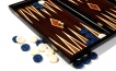 Palisander Backgammon Set with Double Inlays (2)