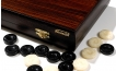 Palisander Backgammon Set with Double Inlays (3)