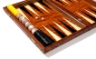 Carved Rosewood Backgammon Set with Racks (2)