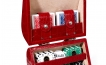 Poker Set in Red Crocodile Leather (3)